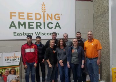 Axiom at Feeding America Eastern Wisconsin