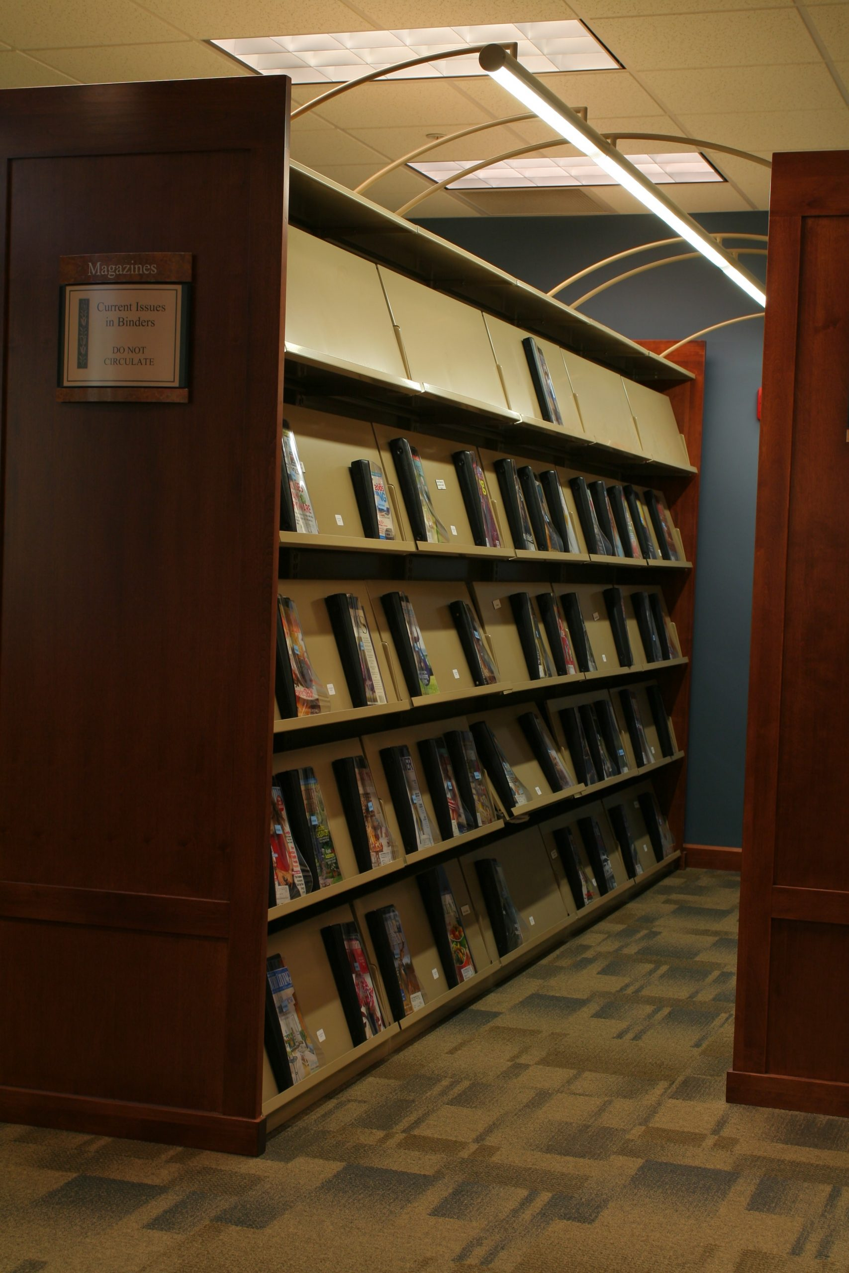 Pewaukee Library Shelving