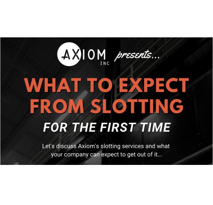 What to Expect From Slotting (For the First Time)