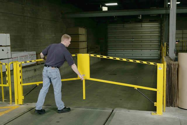 Dock Safety Gates