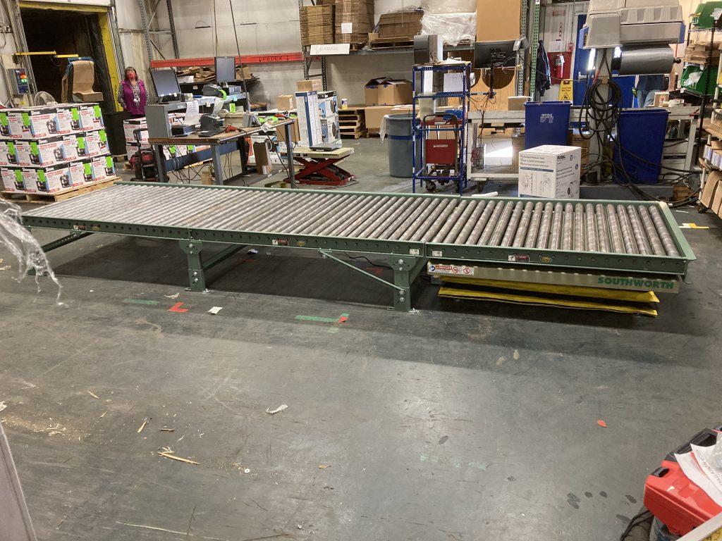 Recent Ergonomic Conveyor Project 2