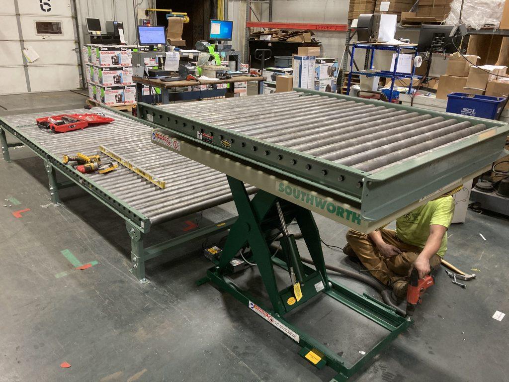 Recent Ergonomic Conveyor Project 1