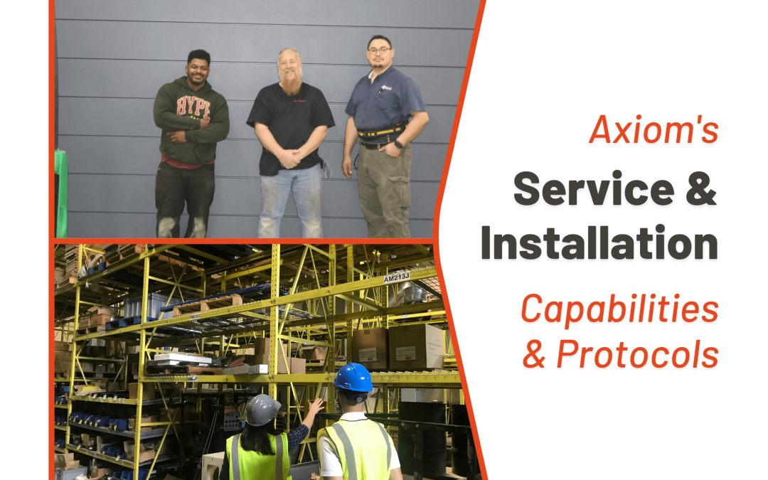 Capabilities & Protocols for Service & Installation
